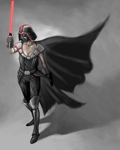 Female Darth Vader
