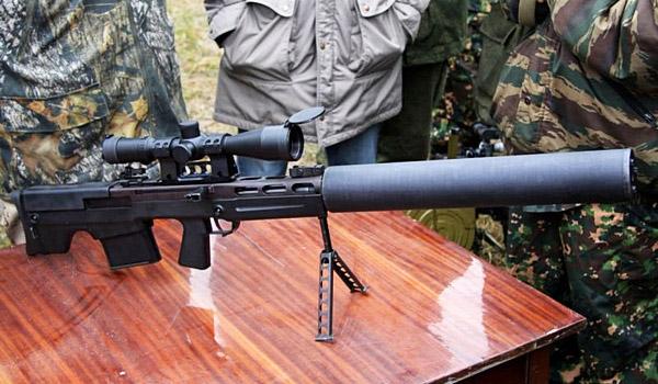 Снайперские винтовки России МЦ 116М, ОСВ 96, ВССК